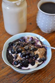 Vegan Blueberry Crea