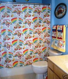 Rainbow Brite Bathroom - A-FREAKING-MAZING!!!!!
