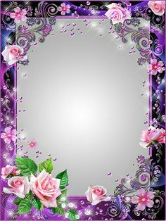By Artist Unknown. Photo Frame Wallpaper, Framed Wallpaper, Family Photo Frames, Picture Frames, Picture Borders, Wedding Borders, Boarders And Frames, Page Borders Design, Photo Frame Design