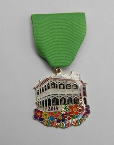 The Molina Manor Porch Party Fiesta Medal