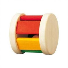 Plan Toys Roller Wooden Baby Rattle - Baby Naturopathics Inc. Baby Boy Toys, Best Baby Toys, Baby Play, Black Friday Toy Deals, Baby Sense, Wooden Rainbow, Plan Toys, Green Toys, Montessori Toys