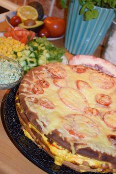 Sandwich Cake, Sandwiches, Tex Mex, Cheddar Cheese, Quiche, Tart, Food And Drink, Nachos, Breakfast