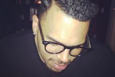 1930′s Swag! Chris Brown Sports New Hair Do