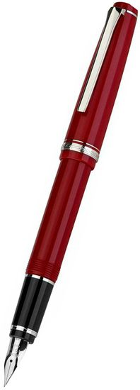 Namiki Falcon Fountain Pen Red Resin;  I've heard nice things about this pens flexibility