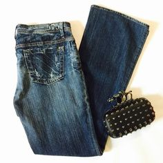 """575 Denims California Lifestyle In gently used condition. Size 31, 8"""" rise, 30"""" inseam, 18"""" leg opening.  NO TRADES. Reasonable offers accepted via the offer button below.  ES153 LD052715 60 575 Denim Jeans Boot Cut"""