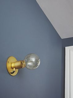 E27 Wall Light and St. Pauls Blue Wall by Frama