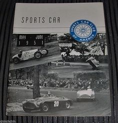 FREE US Ship RARE MAY JUNE 1951 SPORTS CAR Magazine SCCA HARD to FIND Original