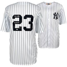 cd3aca3816c Gary Sanchez Yankees Autographed White Majestic Jersey - Steiner Sports   Baseball