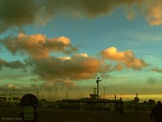 """Didier Cordy, """"A harbour sky ..."""" on ArtStack #didier-cordy #art"""