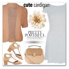 """Cute Spring Cardis"" by andrejae ❤ liked on Polyvore featuring WearAll, New Look, Tabitha Simmons, Carolee, Accessorize, cutecardigan and springlayers"