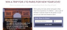 Win A Trip To Paris for 2 by Food52. Visit GiveawayHop.com for more #sweepstakes and #giveaways