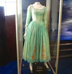 Disney's Live Action Film Cinderella Movie Cosplay Lily James Dress Costumes