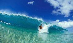 bodysurfing sandy beach