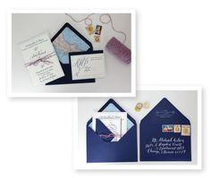 Calligraphy By / http://mollyjacquesillustration.com,Wedding Invitations By / http://rubythefox.com