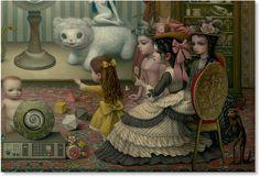 Mark Ryden - Illustration - PopSurrealism - The parlor - 4