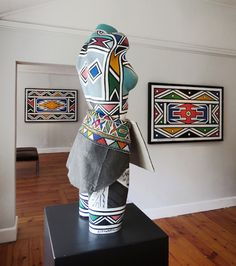 Esther Mahlangu, 80 years old, Contemporary ceramic art, Cape Town