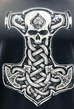 Tatto Viking, Viking Warrior Tattoos, Viking Tattoo Sleeve, Viking Tattoo Design, Norse Mythology Tattoo, Norse Tattoo, Celtic Tattoos, 3d Tattoos, Armor Tattoo