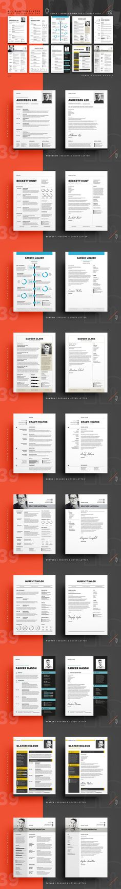 Resume CV - Grayson by bilmaw creative on @mywpthemes_xyz Best - create a cover letter for a resume