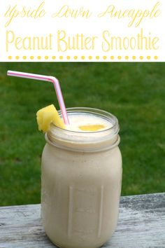 Peanutbutter Smoothie Recipes, Peanut Butter Smoothie, Easy Desserts, Easy Dinner Recipes, Dessert Recipes, Drink Recipes, Make Ahead Breakfast Casserole, Breakfast Recipes, Fruit Smoothies
