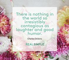 Inspiring words from Charles Dickens.