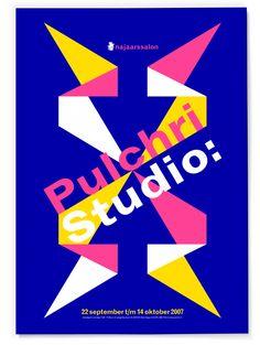 Studio Dumbar: Pulchri Studio Posters