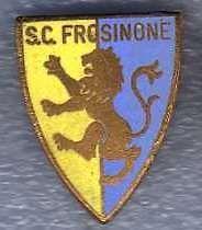 calcio distintivo pin SC FROSINONE vecchio e smalto