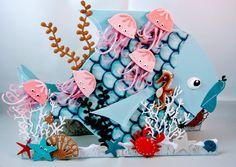 Marianne Design Kreadiva´s: challenge #35 Alles geht mit Marianne Design + Option Unter, auf dem und an dem Meer