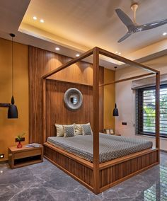 A Minimal Home With a Surprise Bedroom Element - dress your home - best interior design blog, home decor blog featuring Indian interior designers and architects, Bangalore