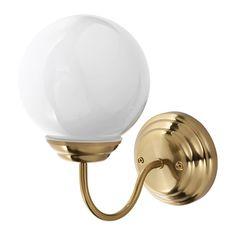 IKEA - LILLHOLMEN, Vägglampa, , Flexibel, går att montera med ned- eller uppåtriktat ljus.