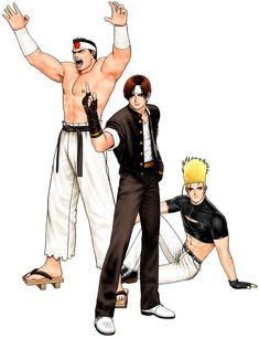Hero Team from The King of Fighters '98: Ultimate Match