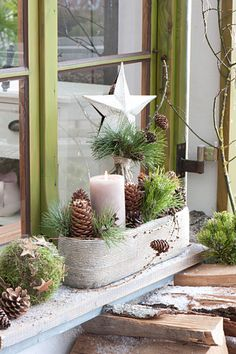 Christmas Makes, Winter Christmas, Holidays And Events, Happy Holidays, Front Garden Entrance, Xmas Decorations, Homemade Gifts, Holiday Crafts, Diy And Crafts