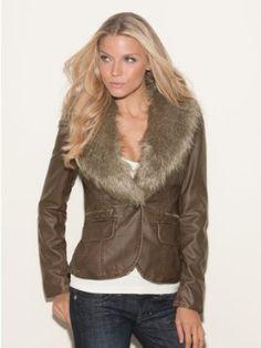 GUESS Casarez Blazer. Two colors. #coat #jacket #fashion