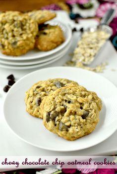 Oatmeal Chocolate Chip Cookies | iowagirleats.com
