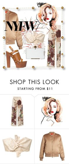 """nfw"" by andreachidisima ❤ liked on Polyvore featuring Valentino, Shinn, MANGO, Givenchy and Charlotte Olympia"