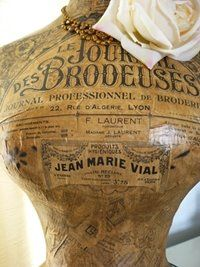 ❥ Corset Laced Mannequins: Having fun with some old news......