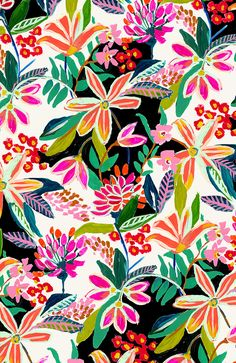 Botanical Prints #ngemma @ngemma #floral #floralprint #print #pattern #watercolor