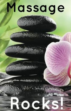 Yep, massage rocks! | Come to Fulcher's Therapeutic Massage in Imlay City, MI and Lapeer, MI for all of your massage needs! Call (810) 724-0996 or (810) 664-8852 respectively for more information or visit our website lapeermassage.com!