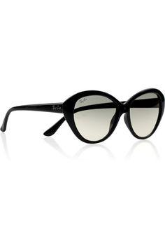 Retro Vintage Damen Katzenaugen Sonnenbrille Nikita Stil Mode 80/'s