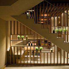 claustra intérieur paravent bois décoration design
