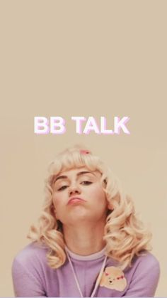 "smilerizm: ""MILEY CYRUS x BB TALK - WALLPAPERS BY ME PLEASE REBLOG + LIKE THIS POST! """