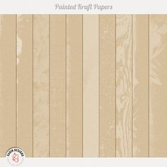 Painted Kraft Papers by Sahin Designs