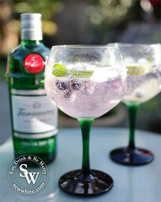 sewwhite, sew white, blueberry gin and tonic, cocktails, recipe