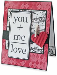 You and Me #Card #Valentine