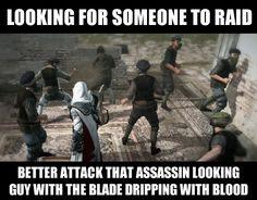 Assassins Creed Bandits Logic