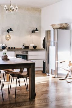An industrial home with authentic details in Kempten Bavaria
