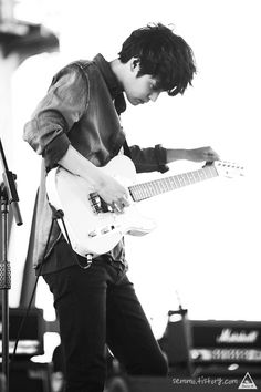 a man that helped me find who am i. Perfect Man, A Good Man, Post Punk Revival, Jung Joon Young, Kdrama, Korean Music, Kpop, Asian Boys, Playing Guitar