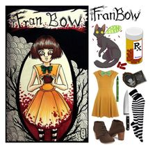 """""""Fran Bow!"""" by mangledpanda ❤ liked on Polyvore featuring Miss Selfridge and KitchenAid"""