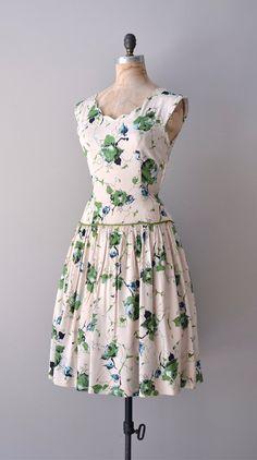 vintage 1950s Hedgerow dres    #vintage #1950s #vintagedress