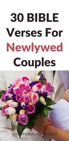 Couples who prioritize reading (and believing!) the Word of God have a more positive outlook when navigating marriage problems. 30 Bible verses for newlywed couples to help navigate challenges and provide instruction for marriage. Newlywed Bible verses Intimacy In Marriage, Marriage Prayer, Happy Marriage, Marriage Advice, Newlywed Advice, Advice For Newlyweds, True Love Quotes For Him, Husband Quotes, Christian Marriage