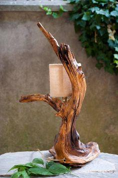 Guarda questo articolo nel mio negozio Etsy https://www.etsy.com/it/listing/528654220/lampada-lampada-in-legno-illuminazione